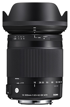 18-300mm F3,5-6,3 DC Makro OS HSM | Contemporary