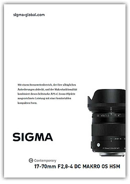 17-70mm F2,8-4 DC Makro OS HSM | Contemporary