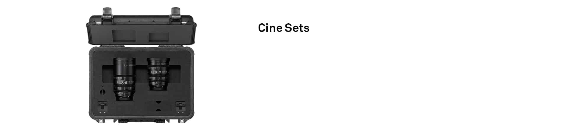 SIGMA Cine Sets