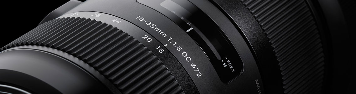 Design 18-35mm F1,8 DC HSM | Art