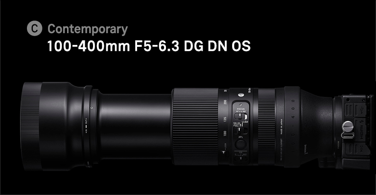 100-400mm F5-6,3 DG DN OS | Contemporary