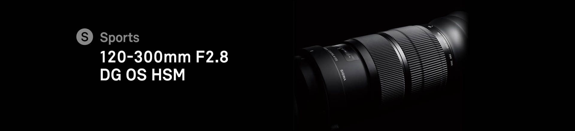 120-300mm F2,8 DG OS HSM