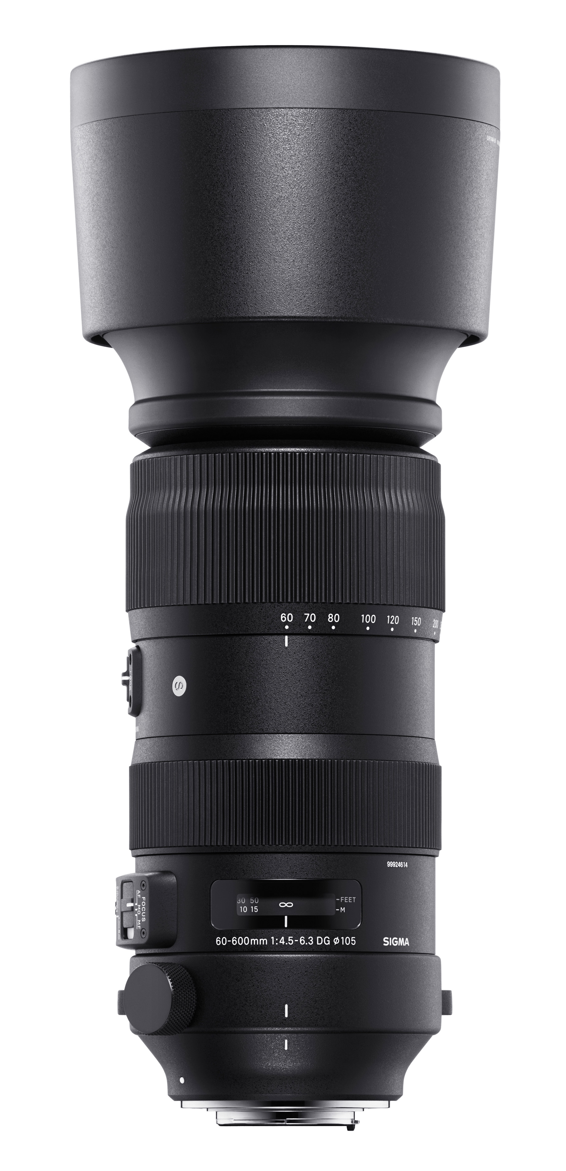 Produktabbildung 60-600mm F4,5-6,3 DG OS HSM | Sports