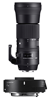 SET 150-600mm Contemporary + TC 1401