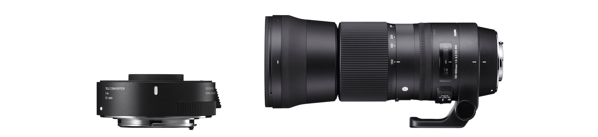 Set 150-600mm F5-6,3 DG OS HSM | Contemporary und TC-1401